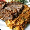 Beef Brisket and Tomato Risotto
