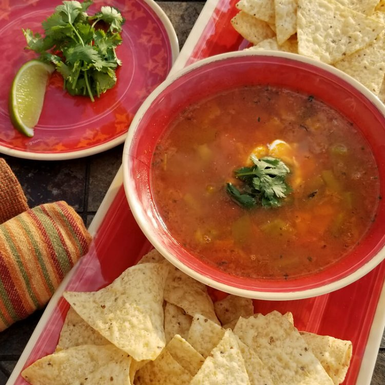 Mexican Roasted Chicken & Corn Chowder